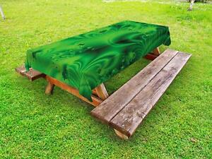 Lime-Green-Outdoor-Picnic-Tablecloth-in-3-Sizes-Washable-Waterproof