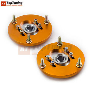 2pcs-Front-Camber-Plates-Inclinacion-Coilover-for-BMW-E36-318-328-323-325-M3