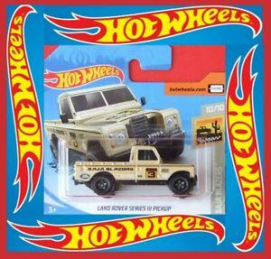 Hot-Wheels-2020-Land-Rover-Series-III-pickup-3-250-neu-amp-ovp-color-nuevo