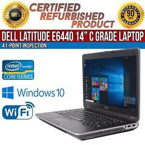 C-Grade-Dell-Latitude-E6440-14-034-Intel-i5-8-GB-RAM-128-GB-SSD-Win-10-WiFi-Laptop