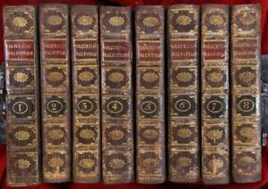 The-Works-of-Shakespeare-William-Warburton-1747-8-Volumes-Alexander-Pope-FPOBO