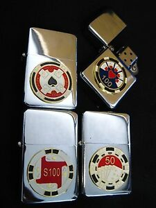 Steel poker chips