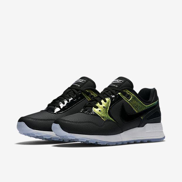 competitive price 4a46d 97687 Nike Womens Air Pegasus 89 PRM Premium Running Shoes Black 844889-002 7    eBay