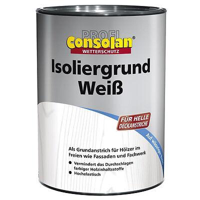 Profi Consolan Isoliergrund Weiß 750 ml NEU&OVP TOP