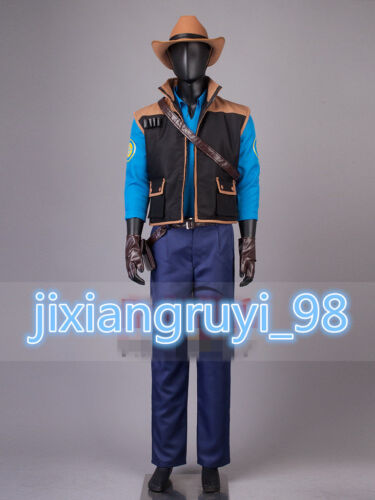 NEW Team Fortress2 Sniper Cosplay Costume MM.920