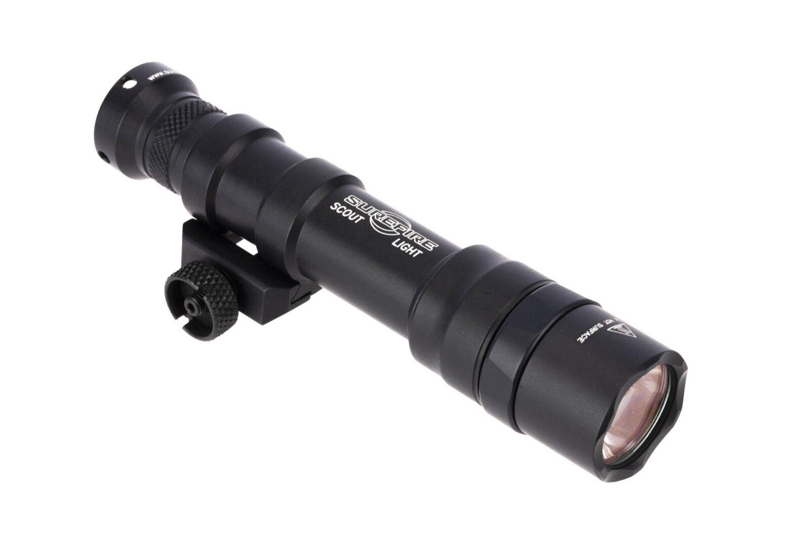 SureFire M600DF Ultra Scout arma antorcha Dual Fuel 1500 lúmenes M600DF-BK