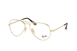 8d79a3b571 Image is loading Glasses-vista-Ray-Ban-RX6489-AVIATOR-2500-GOLD-