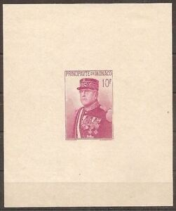 MONACO-STAMP-TIMBRE-BLOC-FEUILLET-1-034-PRINCE-LOUIS-II-1938-034-NEUF-xx-TTB