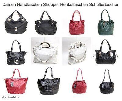 Damenhandtasche Tasche Shopper Damentasche Henkeltasche versch. Modelle / Farben