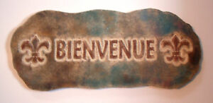 Bienvenue-mold-reusable-casting-mould-Means-Welcome-in-French