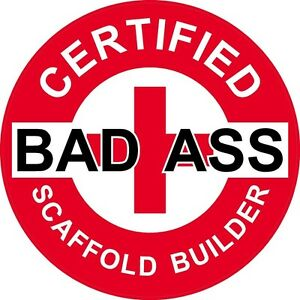 3-Red-Certified-Bad-Ass-Scaffold-Builder-2-Hard-Hat-Helmet-Stickers-H737
