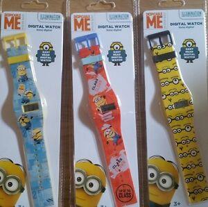 Minion-Digital-kids-watch-3-Designs