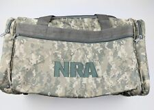 Brand New Nra Digital Camouflage Army Duffel Bag Gun Hunting Fishing Ammo