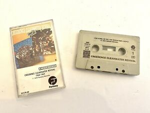 CREEDENCE CLEARWATER REVIVAL - 1968 / 1969 CASSETTE TAPE - Classic Rock Best Of