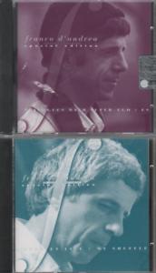 Franco-D-039-Andrea-Dialogues-Live-My-Shuffle-CD-ALBUM-2-cds-vol-1-2-red-label