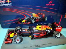 1/18 Red Bull Racing TAG Heuer RB12 #33 Verstappen Winner Spain'16 Spark 18S240