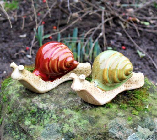 Snails Garden Ornaments Patio Animal Ceramic Snail Outdoor Indoor