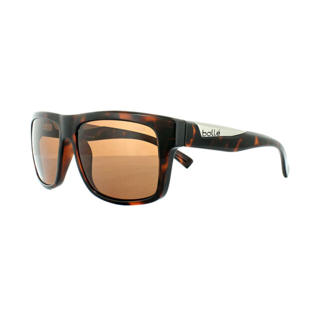 A14 Polarized 11827 BOLLE Polarised Clint Sunglasses Shiny Brown Tortoise
