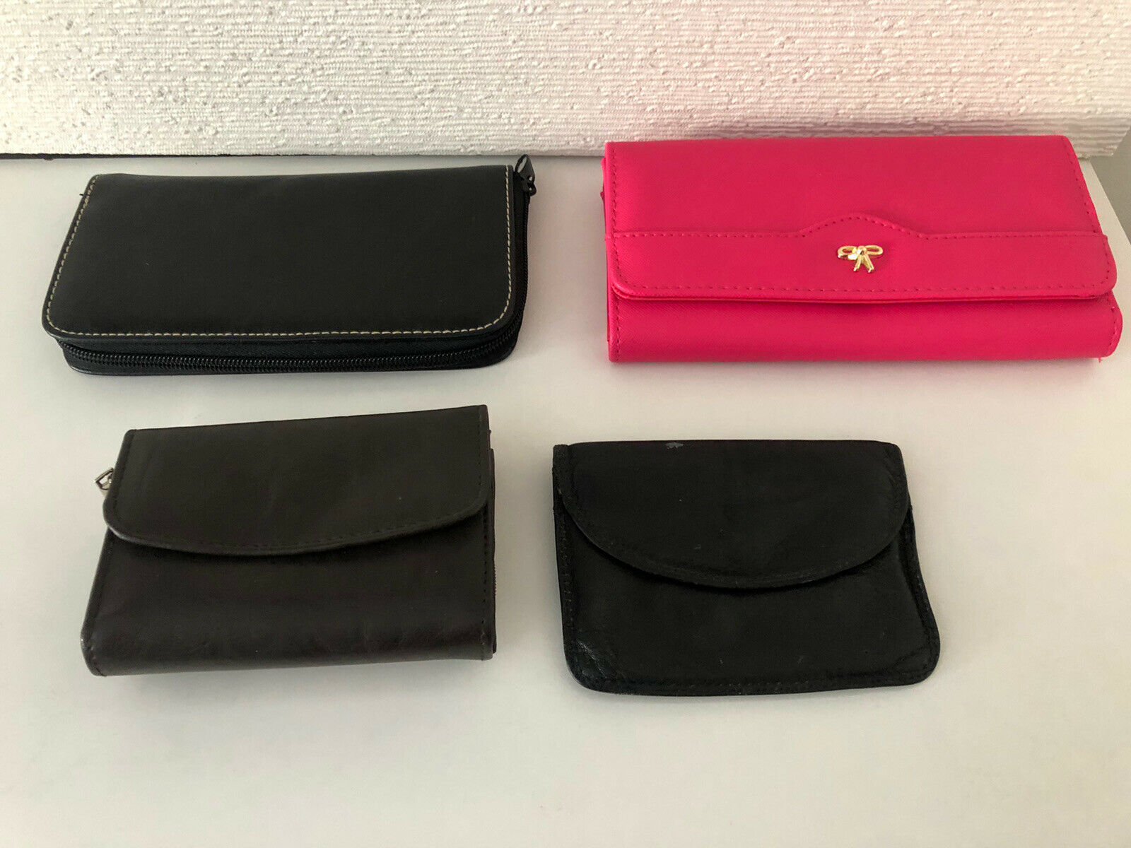 - Job Lot of 4 Ladies Purses Wallets and Card holders