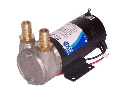 24V Flügelzellenpumpe Betankungspumpe Dieselpumpe für Baumaschinen 35l//min