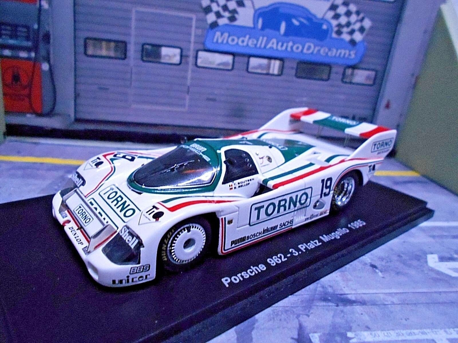 Porsche 962 C 962 C MUGELLO 1985  19 Torno Brun Bellof Boutsen 1 500 Spark 1 43
