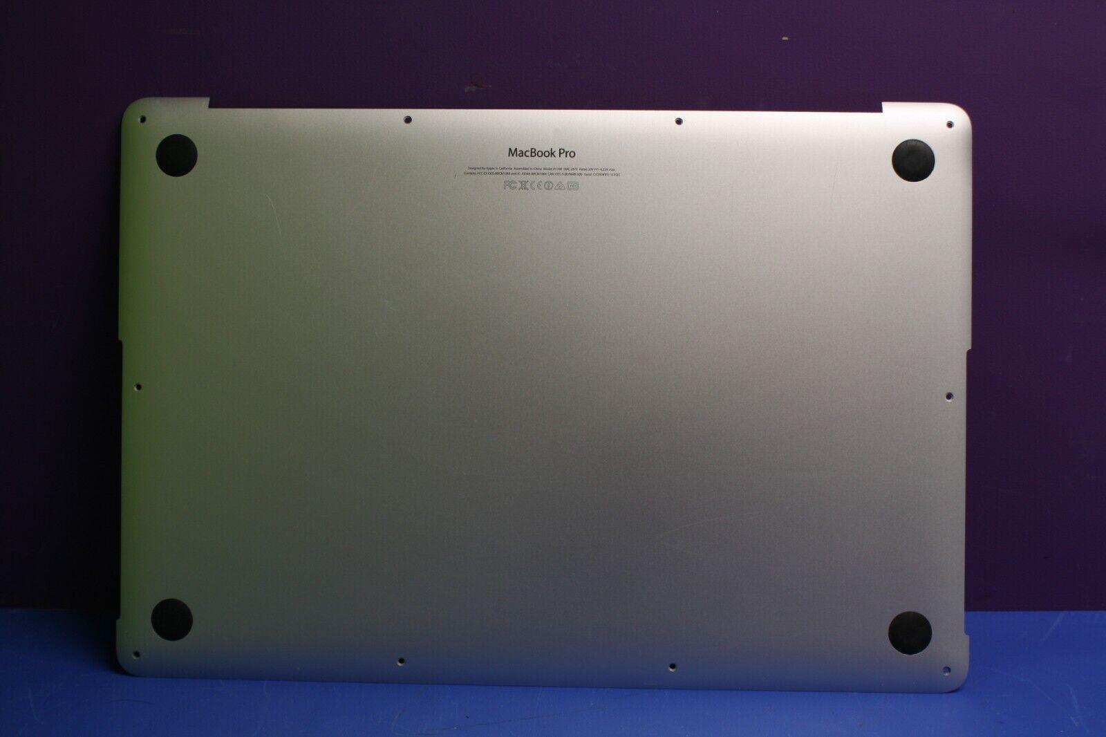 "15"" MacBook Pro Retina A1398 Genuine Lower Bottom Case - 2012 2013 2014 2015 / B"