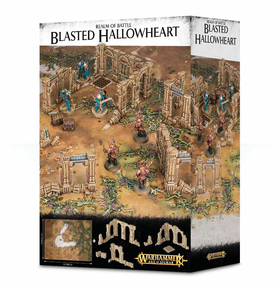 Realm of Battle Blasted Hallowheart Games Workshop Age of Sigmar Aos