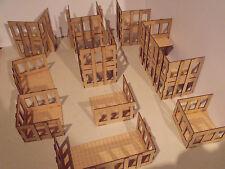 Terrenos variados alturas escenografía warhammer 40k wargame wargaming edificio Infinity