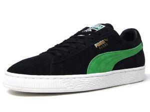 online store d1383 d8bc5 Details about PUMA SUEDE CLASSIC x XLARGE PUMA BLACK-KELLY GREEN 366307-01  MEN SHOES S-C