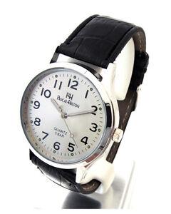 Lederarmband-Uhr-aus-Edelstahl-Pascal-Hilton-Ref-04572020