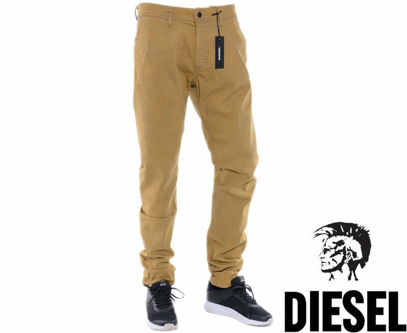 DIESEL KAKEE 0680J W34 L32 Mens Denim Jeans Regular Slim Tapered