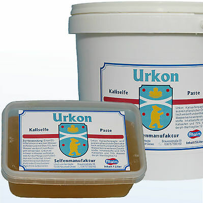 Kaliseife 5 Liter Deckeleimer Kalischmierseife Paste 30%  Fußbodenpflege