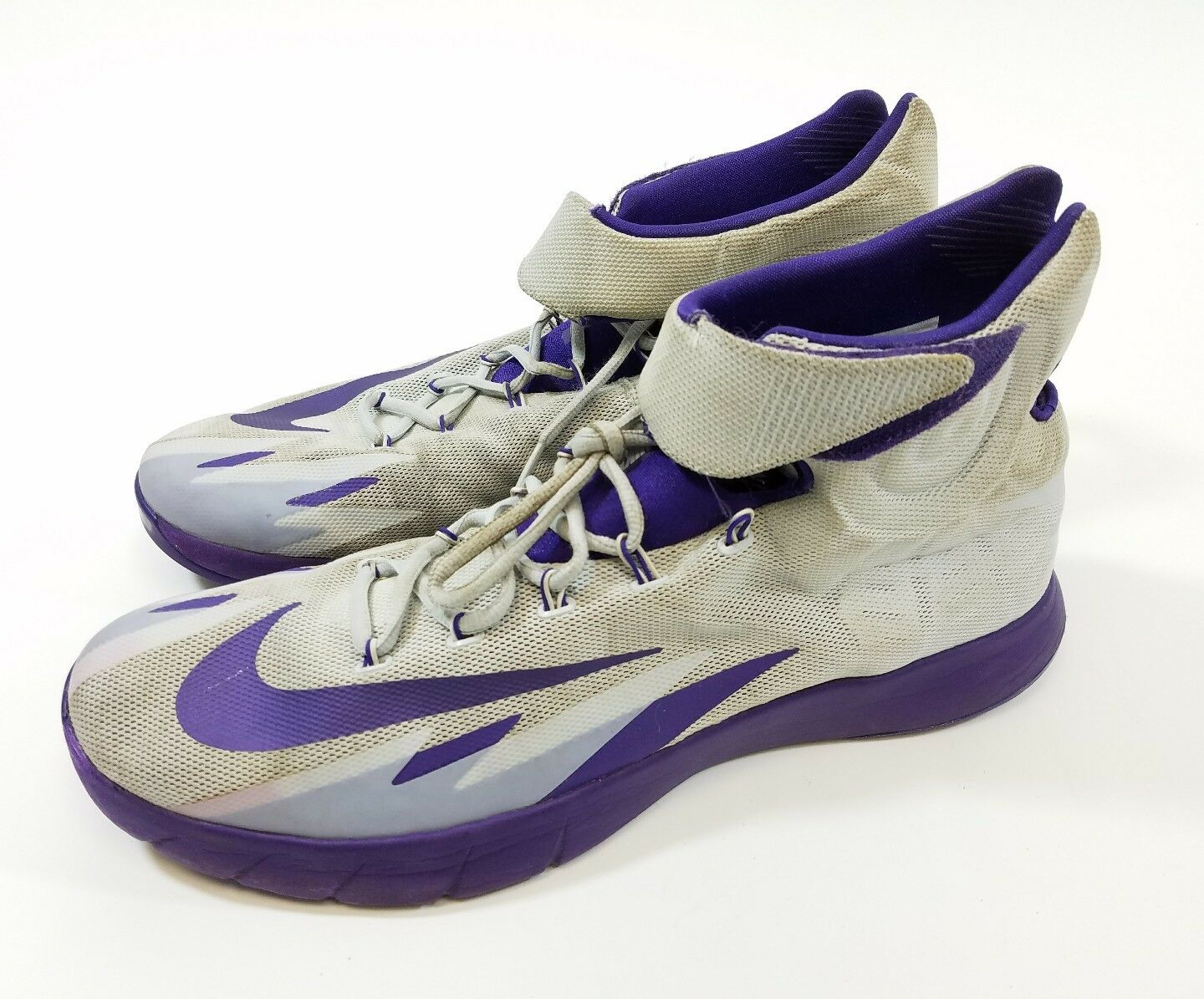 Mens 2013 Nike Zoom 018 HyperRev Kyrie Erving 643301 018 Zoom Purple Basketball Shoes 14 dfd4a1