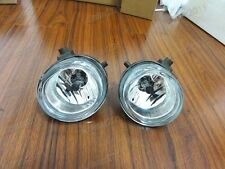 1Pair Fog Lights Clear Bumper Lamps Replacement For Mazda 5 2006-2010