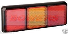 Led autolamps 80bfarme 12v/24v trasero combinación stop/tail/ind / De Niebla De Luz