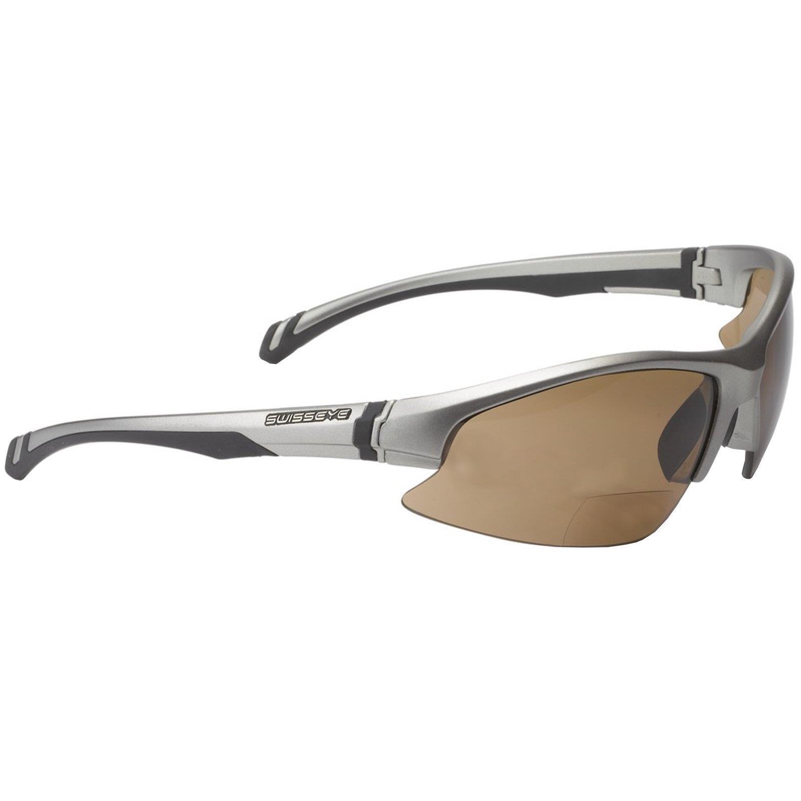 Swisseye Flash Bifocal Fahrrad Sport Brille Rennrad 2,0 dpt Lesehilfe Sehstärke