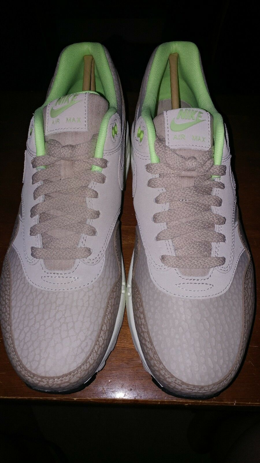 Nike Nike Nike air max 1 premium - tan beige wste camo geist grne 512033-203 ds - 10 9437c9