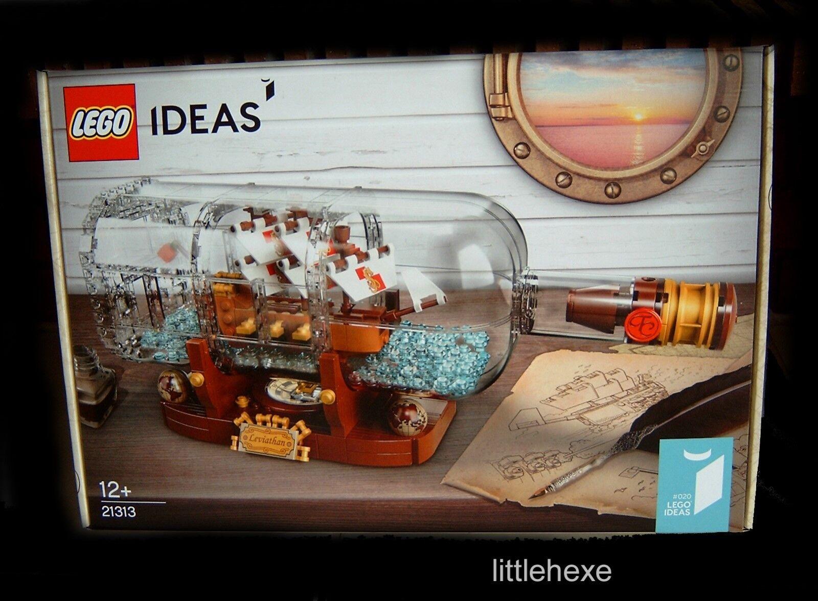 Lego Ideas navire dans la bouteille 21313 Nouveau/Neuf dans sa sa sa boîte ec31d1