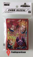 ♦Dragon Ball♦ 50 Protèges Cartes SMALL Sleeves : Goku - Gohan - Vegeta - Beerus