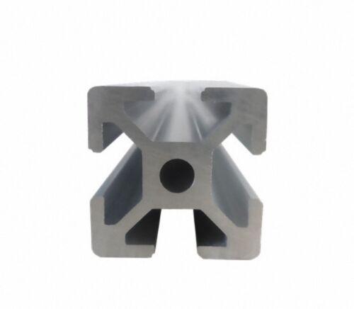 """2525 25X25MM T-SLOT ALUMINUM EXTRUSION 1/"""" X 1/"""" FRAMING 200-600MM CUT 3D PRINTER"""