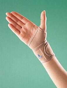 Elastic Wrist Wrap Thumb Loop Support Adjustable Compression Strap OP 2083 Pain