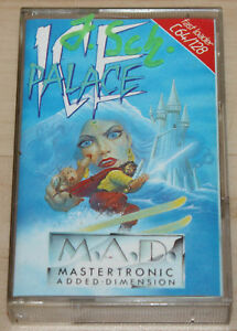 Mastertronic-Ice-Palace-Kassette-Tape-Commodore-64-C64-funktioniert