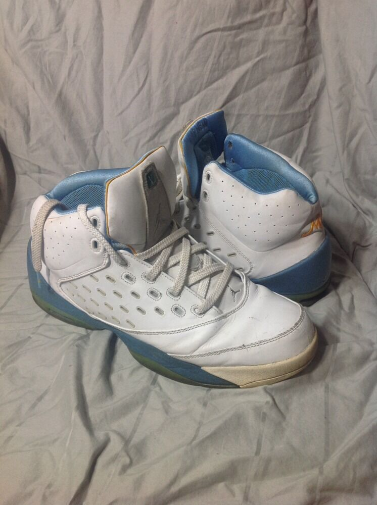 Nike Air Jordan Melo Carmelo Anthony 5.5 Retro V VI 311813-102 bluee  SZ 14