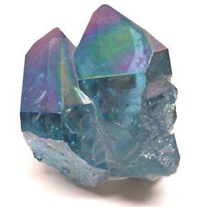 RARE-Stunning-Aqua-Aura-Rainbow-Rainbow-Quartz-Crystal-58g-2-060oz-BE-0034