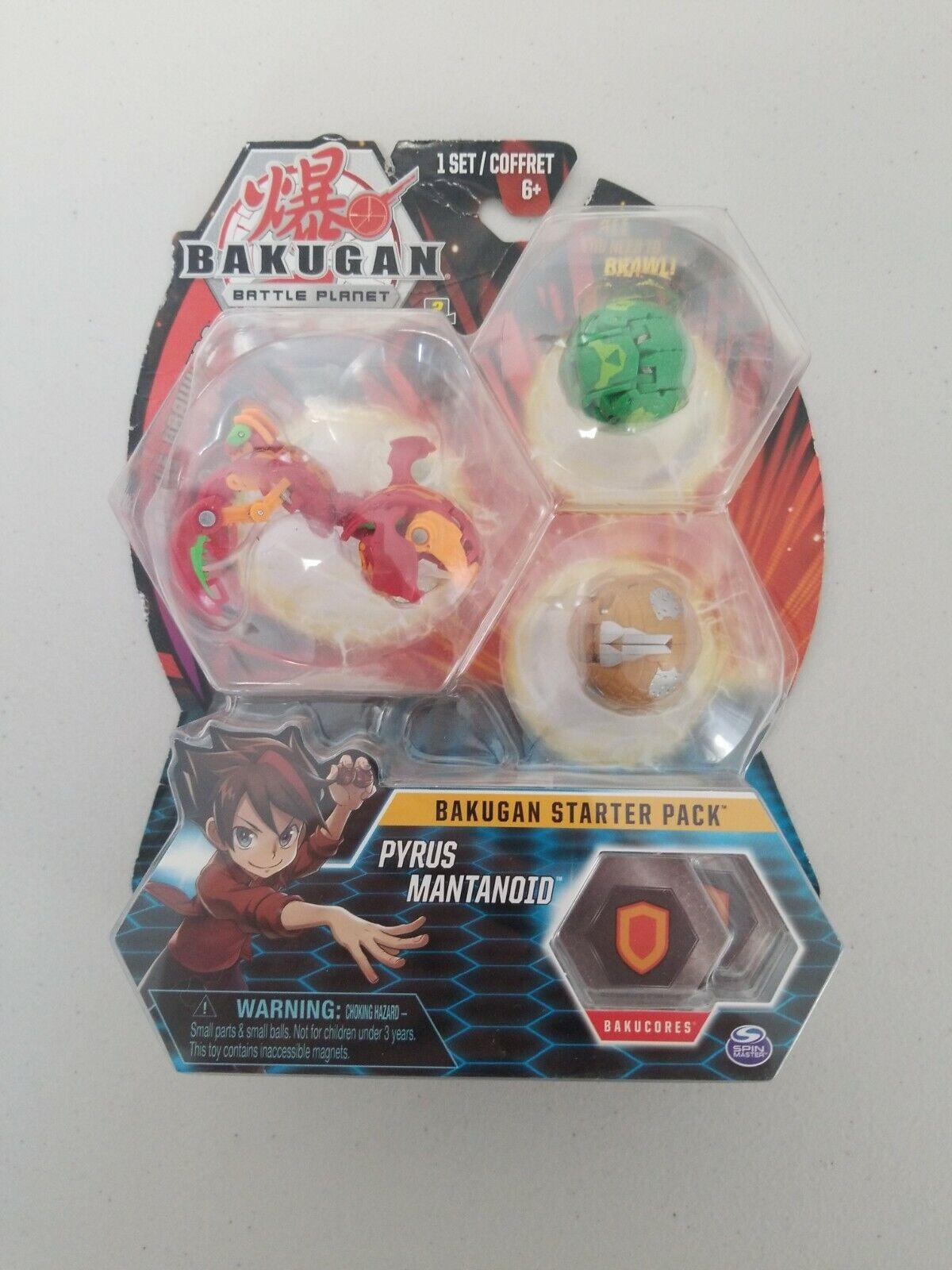 BAKUGAN Core 1 Pack Pyrus mantanoid NUOVO