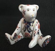 Royal Crown Derby - Miniature Bear Collection - Paperweight - Figurine