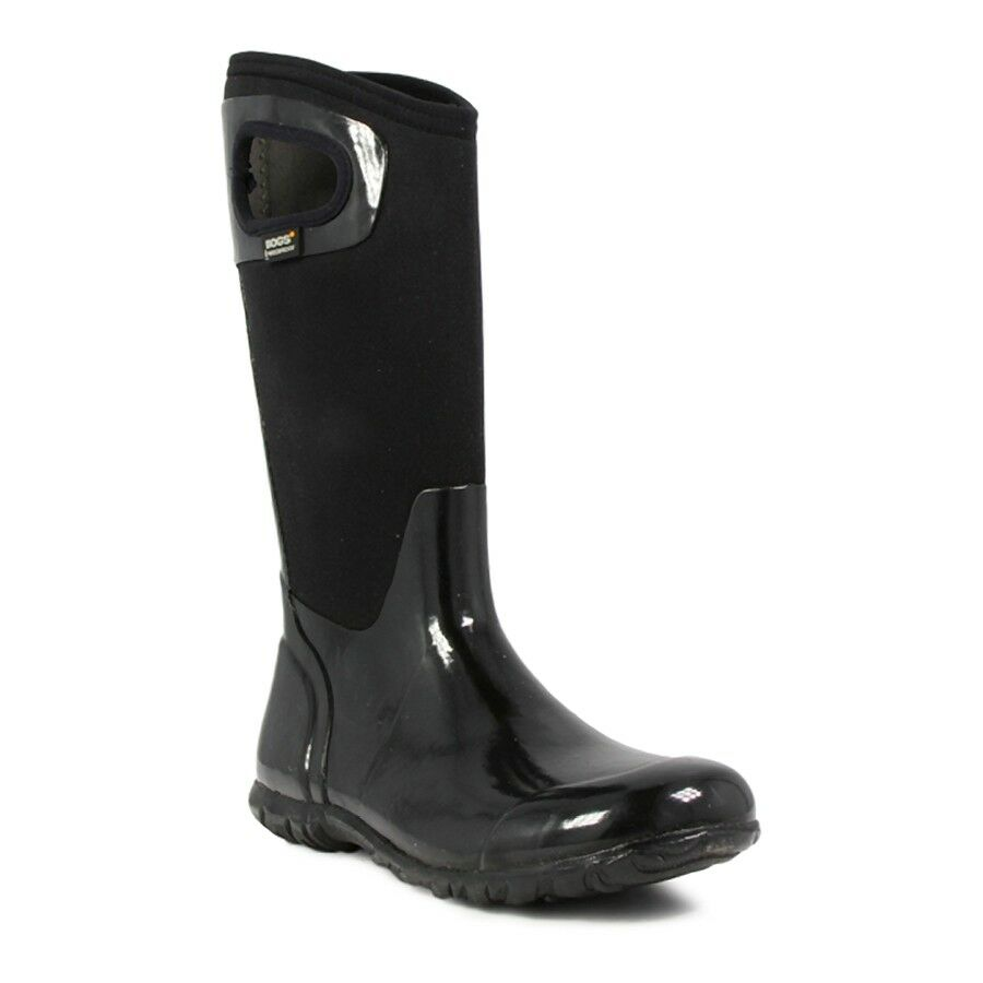 Bogs Women's North Hampton Solid Solid Solid Tall Black waterproof Boots 71781-001 aa6a3f