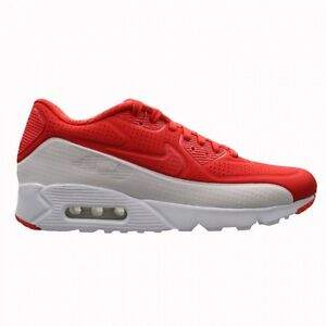 Nike Air Max 90 Ultra Moire Running Sneaker Red White 819477 611 Mens New