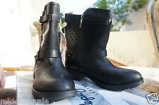 Pepe Jeans London PIMLICO PERFORATIONS, femme Biker Boots, noir 38 EU