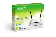TP-LINK Router Wireless N WiFi 300Mbps Access Point Lan Switch 4 MIMO TL-WR841N